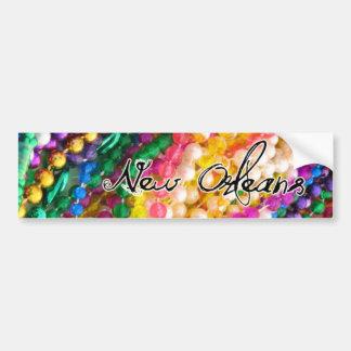 Mardi Gras Bumper Sticker