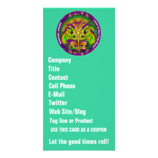 Mardi Gras Business Please View Hints Card