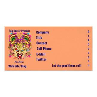 Mardi Gras Business Theme Hz Please View Notes Card