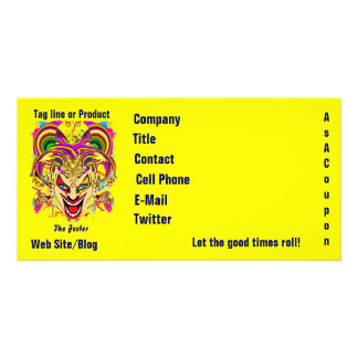 Mardi Gras Business Theme Hz Please View Notes Photo Cards
