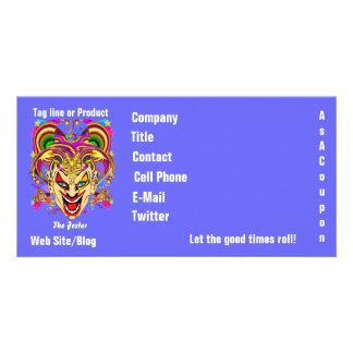 Mardi Gras Business Theme Hz Please View Notes Picture Card