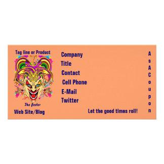 Mardi Gras Business Theme Hz Please View Notes Customized Photo Card