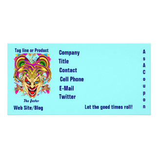 Mardi Gras Business Theme Hz Please View Notes Photo Greeting Card