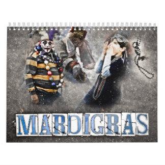 Mardi Gras Calendar