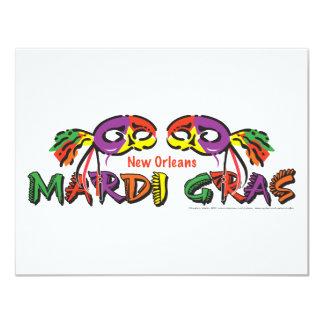 MARDI-GRAS CARD