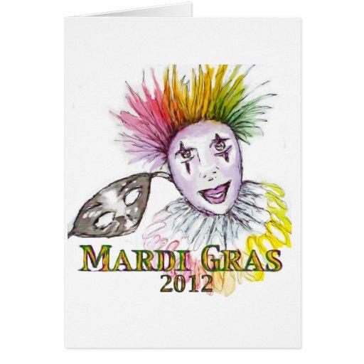 Mardi Gras Card - Customize