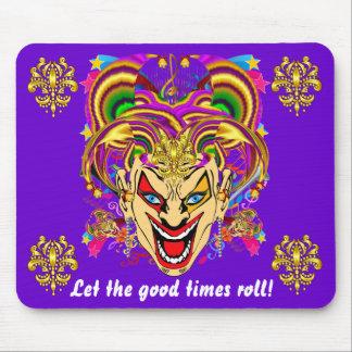 Mardi Gras Carnival Event Mousepad