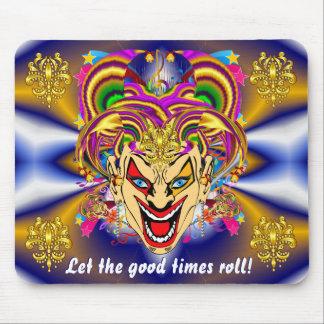 Mardi Gras Carnival Event Mouse Pad