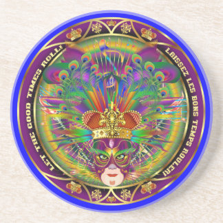 Mardi Gras Carnival Event  Please View Notes Drink Coaster