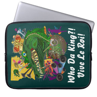 Mardi Gras Carnival Event  Please View Notes Laptop Computer Sleeve