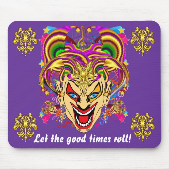 Mardi Gras Carnival Event  Please View Notes Mouse Pad