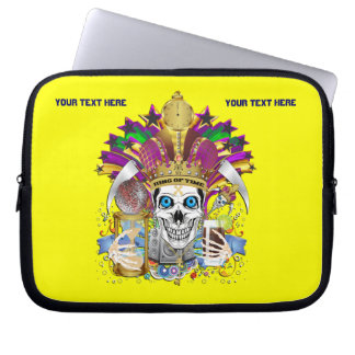 Mardi Gras Carrying Case for ip-5 and ipad Mini