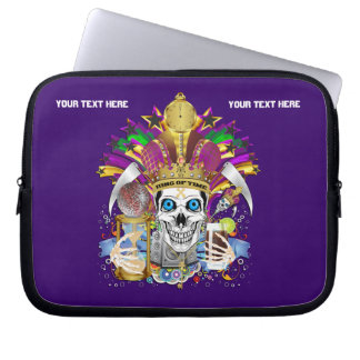 Mardi Gras Carrying Case for ip-5 and ipad Mini Computer Sleeve