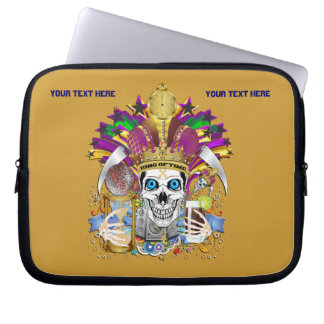 Mardi Gras Carrying Case for ip-5 and ipad Mini Laptop Computer Sleeves