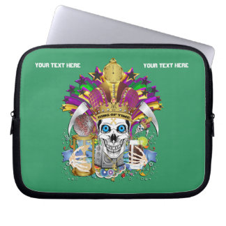 Mardi Gras Carrying Case for ip-5 and ipad Mini Laptop Sleeves