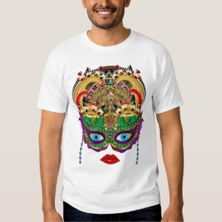Mardi Gras Casino Queen 2 Plse View Artist Comment Tee Shirt