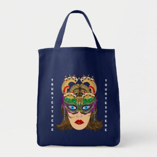 Mardi Gras Casino Queen 2 Plse View Artist Comment Tote Bag