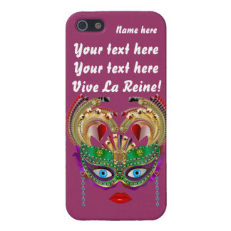 Mardi Gras Casino Queen Plse View Artist Comments Cover For iPhone SE/5/5s