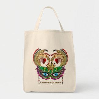 Mardi Gras Casino Queen Read About Design Below Tote Bag