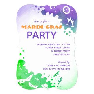 Mardi Gras Celebration Card