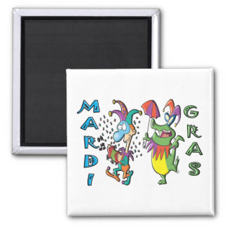 Mardi Gras Celebration Magnet