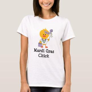 Mardi Gras Chick T-shirt