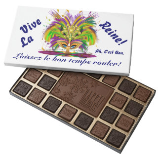 Mardi Gras Chocolate Assortment & Bars