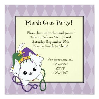 Mardi Gras Clancey Invitation
