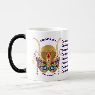 Mardi Gras Cleopatra-VII Read About Design Below Magic Mug