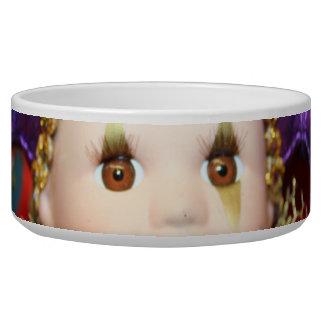 Mardi Gras clown Bowl