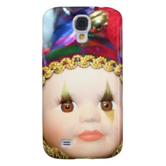 Mardi Gras clown doll iphone 3G Speck Case Galaxy S4 Cover