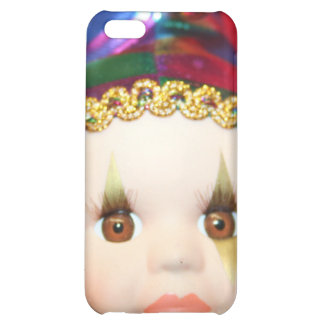 Mardi Gras clown doll iphone 4 Speck Case Case For iPhone 5C