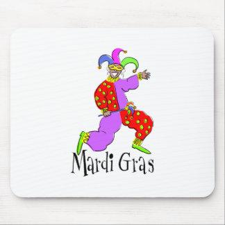 Mardi Gras Clown Mouse Pad