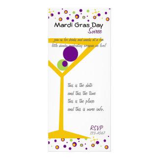 Mardi Gras Cocktails Custom Invitations