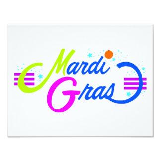 Mardi Gras Color Card