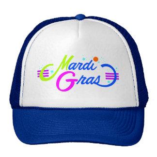 Mardi Gras Color Trucker Hat