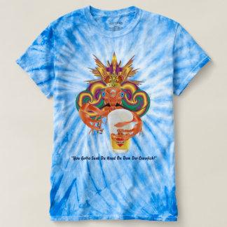 Mardi Gras Crawdad 1 Mens view notes below T-shirt