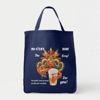Mardi Gras Crawfish English View Hints please Tote Bag