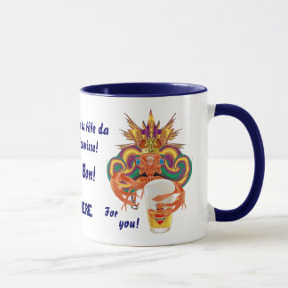 Mardi Gras Crawfish French View Hints please Mug