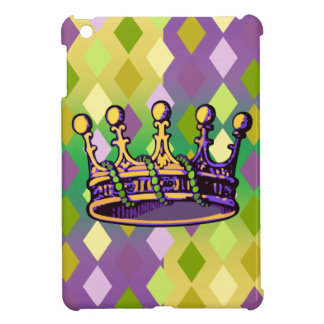 Mardi Gras Crown apparel and gifts Cover For The iPad Mini