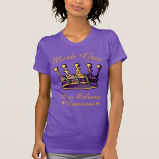 Mardi Gras Crown apparel and gifts T Shirt