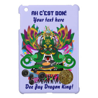 Mardi Gras D. J. Dragon King Important view hints Case For The iPad Mini