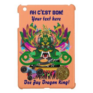 Mardi Gras D. J. Dragon King Important view hints iPad Mini Covers