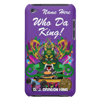 Mardi Gras D. J. Dragon King View Hints please Barely There iPod Cover