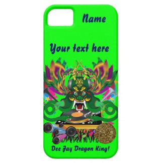 Mardi Gras D. J. Dragon King View Hints please iPhone 5 Cover