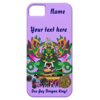 Mardi Gras D. J. Dragon King View Hints please iPhone 5 Cases