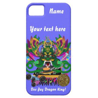 Mardi Gras D. J. Dragon King View Hints please iPhone 5 Case