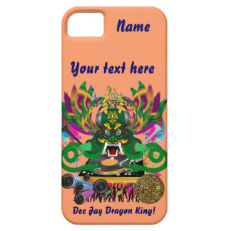 Mardi Gras D. J. Dragon King View Hints please iPhone 5 Covers