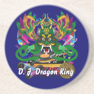 Mardi Gras D. J. Dragon King View Hints please Coaster