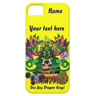 Mardi Gras D. J. Dragon King View Hints please iPhone SE/5/5s Case